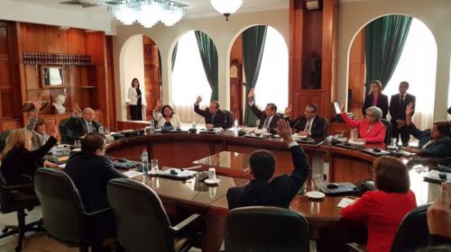 Magistrados se declaran en sesión permanente hasta elegir presidente
