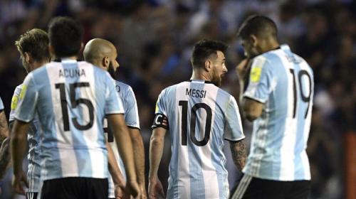 Argentina empata con Perú y ahora está en manos de Brasil