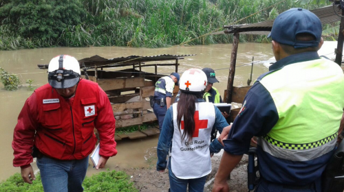 Declaran alerta roja en Alta Verapaz por fuertes lluvias