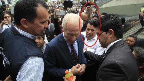 Secretario de SAAS estuvo con Álvaro Arzú en la Municipalidad