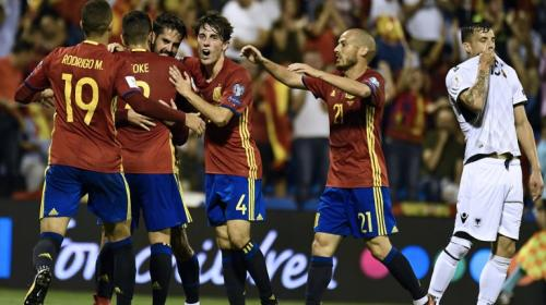 España se clasifica a Rusia 2018 e Italia sufrirá el repechaje
