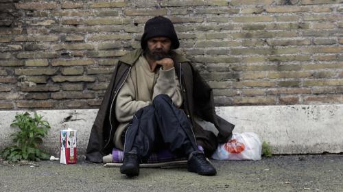 El indigente