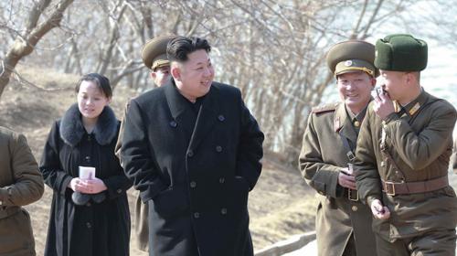 La hermana que Kim Jong-un promovió al centro del poder de Norcorea