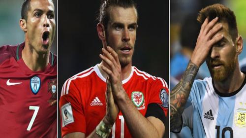 Las estrellas del fútbol que podrían perderse el Mundial de Rusia 2018