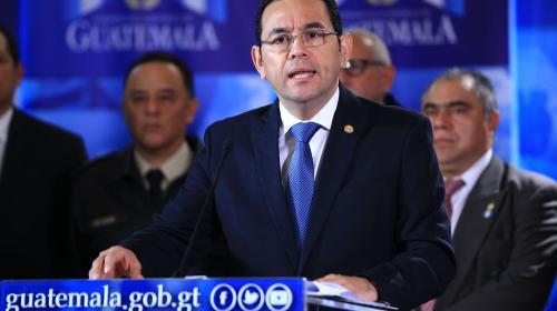 Jimmy rechaza renuncia de ministros de Gobernación, Finanzas y Trabajo