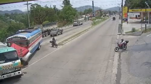 Video: motorista se salva de morir en accidente de tránsito