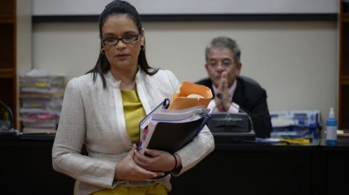 Baldetti dedica pasaje bíblico al juez Miguel Ángel Gálvez