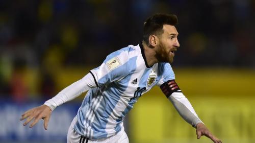 Con sufrimiento y de la mano de Messi Argentina se clasificó a Rusia