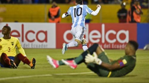 Messi envía un corto, pero contundente mensaje a los argentinos