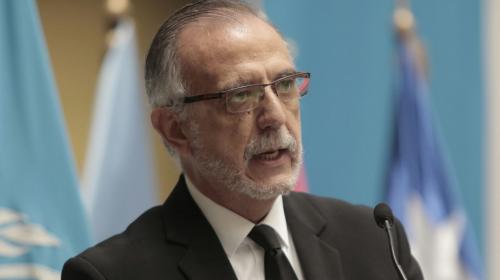 Iván Velásquez habló sobre su visa revocada