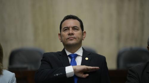 CSJ rechaza tres antejuicios contra el presidente Jimmy Morales