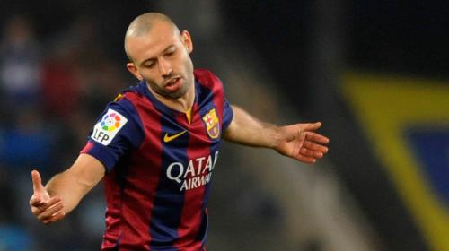 Mascherano planea abandonar Barcelona al final de la temporada