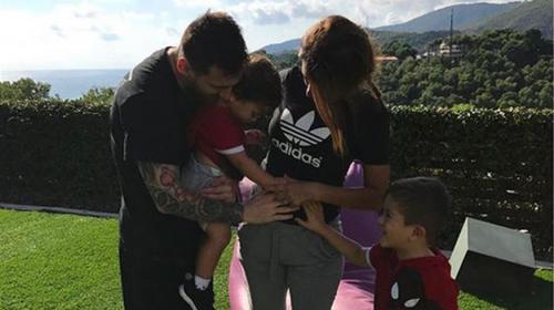 Messi y Antonella Roccuzzo confirman la espera de su tercer hijo