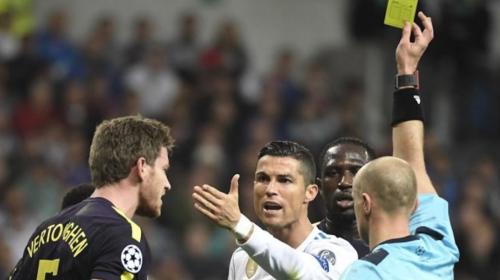 Así fue la agresión de CR7 que el árbitro solo castigó con amarilla