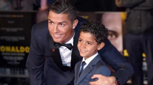 Cristiano Ronaldo presume el golazo de su hijo mayor