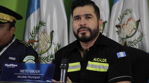 Presentan antejuicio contra alcalde de Mixco, Neto Bran