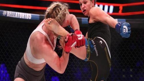 Luchadora termina con el rostro destrozado tras una brutal patada
