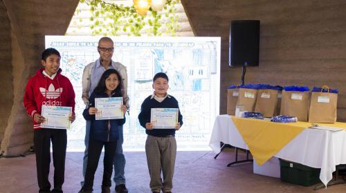 EEGSA premió a niños en Programa de Prevención de Accidentes