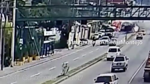 Video: así fue el accidente en ruta al Atlántico