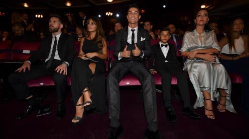 "La ""selfie"" que incomodó a la novia de Cristiano Ronaldo"