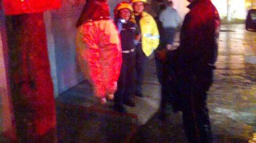 Bomberos Voluntarios y Municipales fueron víctimas de macabra broma