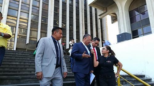 El diputado Arístides Crespo reapareció en Tribunales