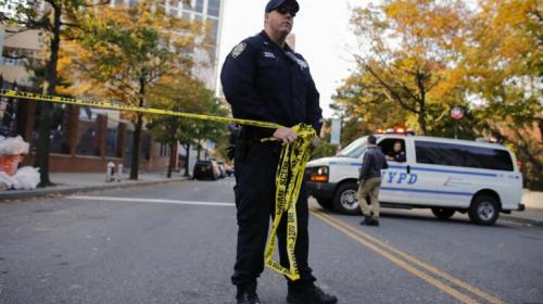 Video: así intentó escapar el responsable del ataque en Nueva York