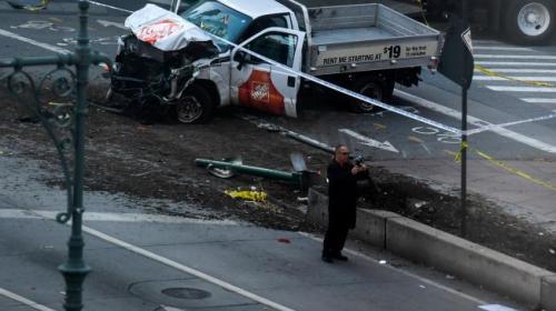 Escena de terror: los minutos después del ataque en Nueva York