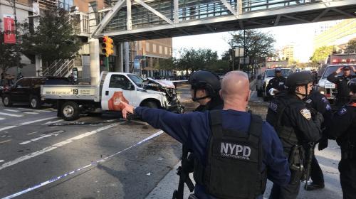 Tiroteo en Manhattan: un hombre atropelló y disparó en Nueva York
