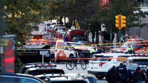 Nueva York: atacante que atropelló a personas llevaba armas de juguete