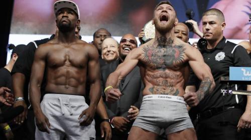 Conor McGregor admitió que su pelea con Floyd Mayweather fue un circo