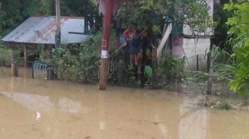 Más de 800 personas afectadas por lluvias en el departamento de Petén