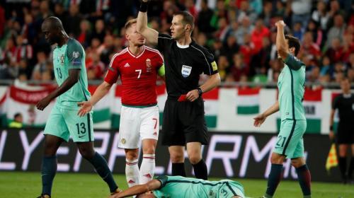 Pepe recibió una cucharada de su propia medicina en Hungría