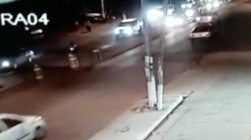 Así fue como el conductor ebrio atropelló a una agente de la PMT