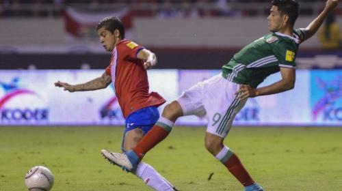 Costa Rica rescata el empata contra México con un golazo