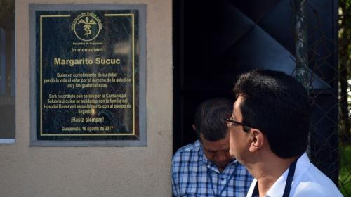 Rinden homenaje a don Margarito, el guardia asesinado en el Roosevelt