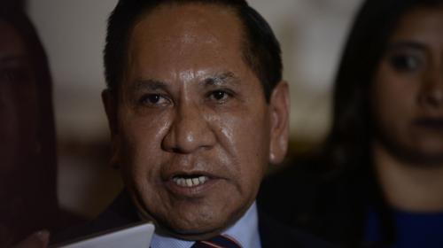 "Presidente de comisión pesquisidora denunciará ""cualquier presión"""