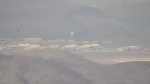 Graban imágenes inéditas de la restringida Área 51