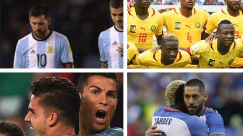 Potencias del fútbol que están en riesgo de quedar fuera del Mundial
