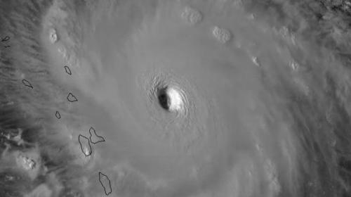 Impresionante: así se ve el peligroso huracán Irma desde el espacio