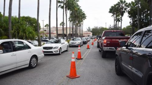 Irma azota cayos de Florida a su llegada a Estados Unidos