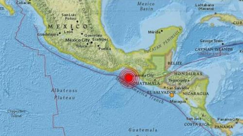 Tras el fuerte sismo, varios países tienen alerta de tsunami