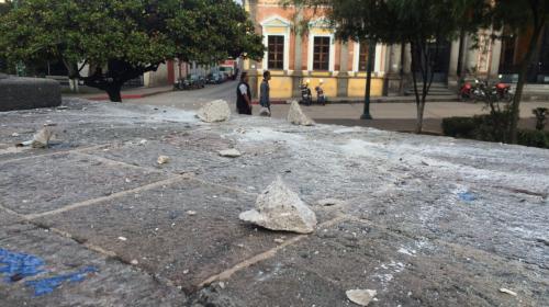 Terremoto de 7.7 grados en Guatemala afectó a tres mil 316 personas