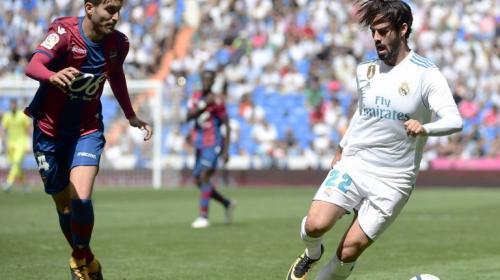Real Madrid suma nuevo tropiezo en casa tras empatar con Levante