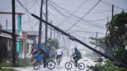 Irma dejó su huella en Cuba y provocó inundaciones
