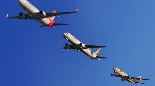 Así registran los radares los vuelos que evitan pasar sobre Florida