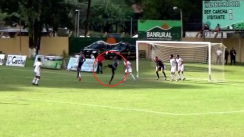 Mira el golazo que un jugador del Deportivo Carchá le anotó a la Usac