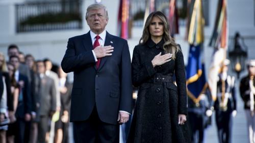 """Donald Trump en homenaje del 11-S: """"Estados Unidos no será intimidado"""""""