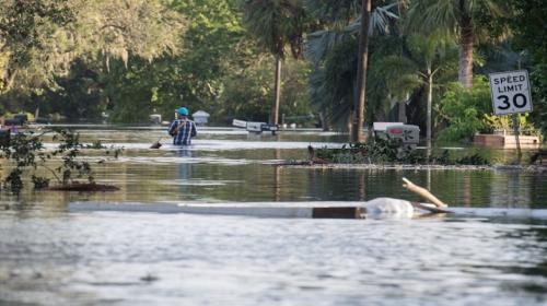 Impresionantes videos de la furia del huracán Irma en Florida