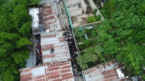 """PNC utilizó 12 drones para capturar a 130 mareros en """"Megaoperativo"""""""